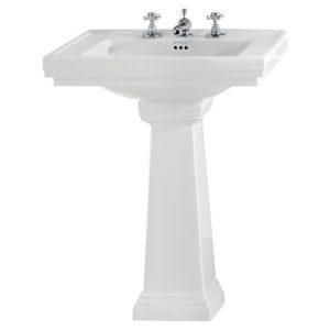 Imperial Bathroom Astoria Deco large pedestal 20-AD1PE01000T