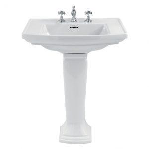 Imperial Bathroom Radcliffe pedestal 20-RD1PE