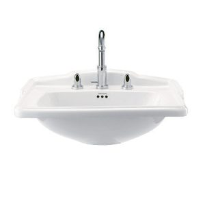 Imperial Bathroom Drift square basin 20-DRSQ